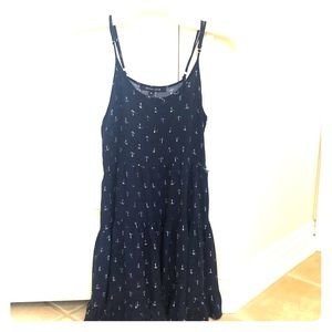 Juniors size small sundress with anchor print